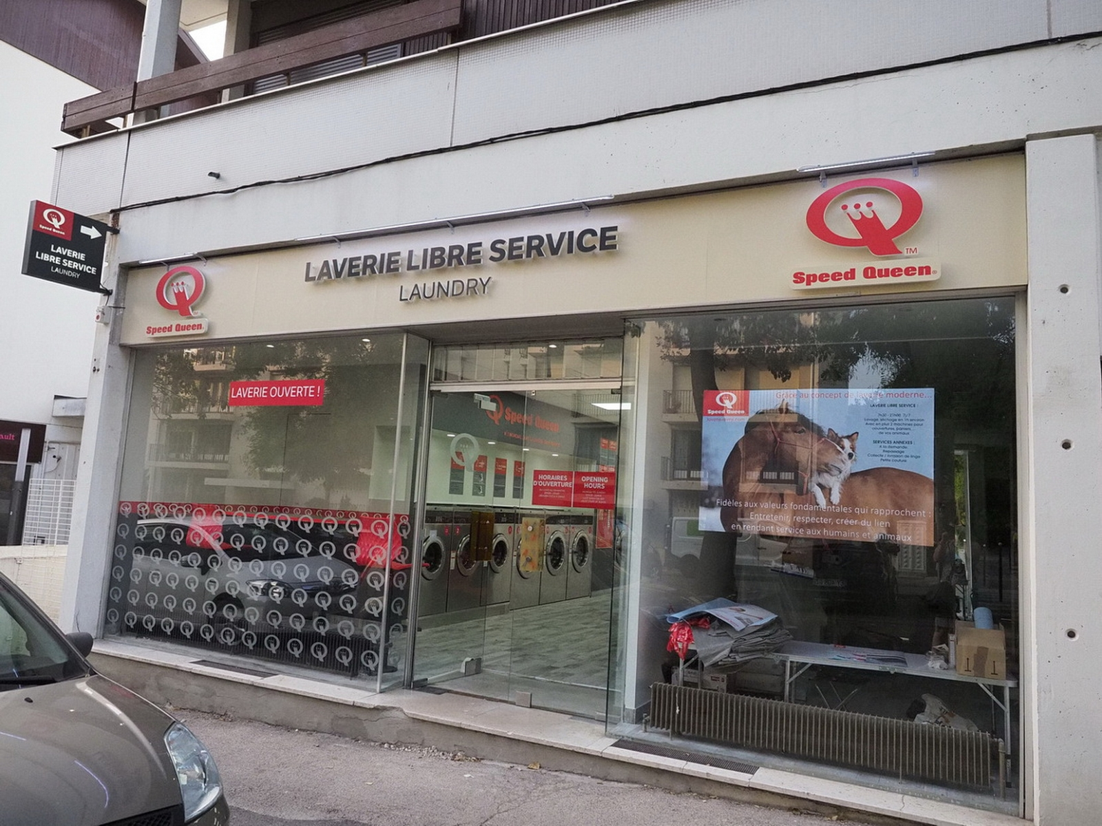 Laverie libre service Speed Queen 6 B rue Chanteraine à Reims