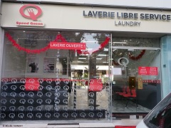 laverie Speed Queen Reims Saint Remi deco Noel
