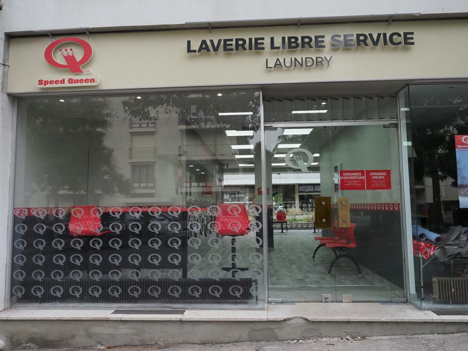 Laverie libre service Speed Queen 13 espl Fléchambault à Reims